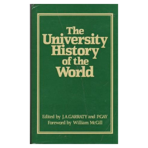 The University History of the World